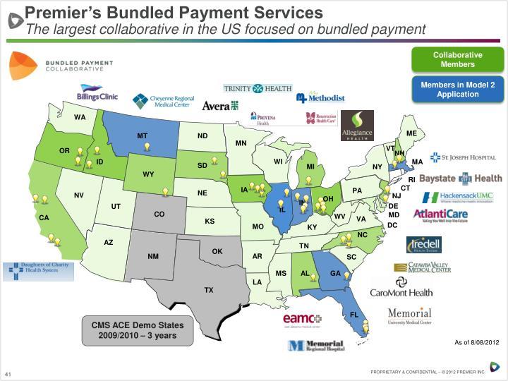 Premier's Bundled Payment Services