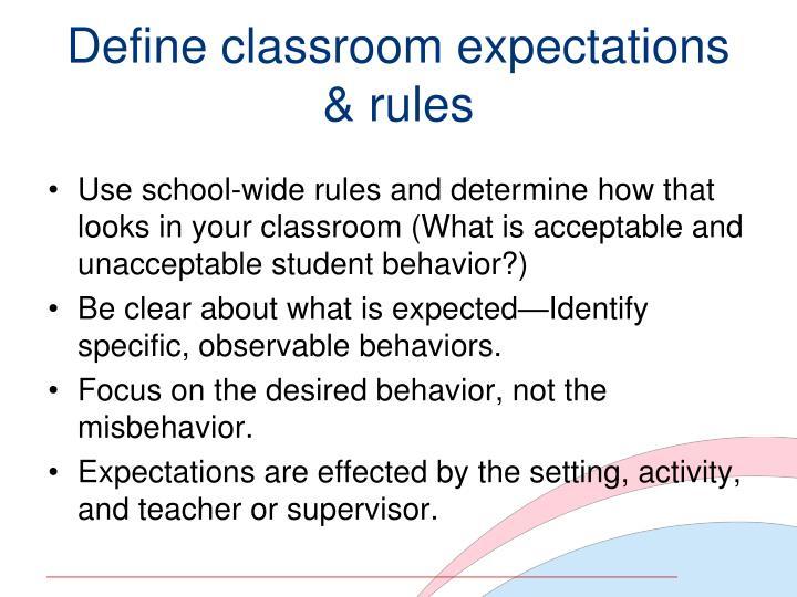 Define classroom