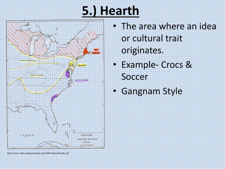 5.) Hearth