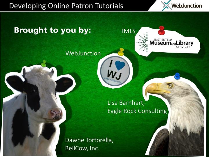 Developing online patron tutorials