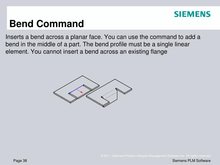 Bend Command