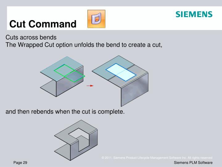 Cut Command