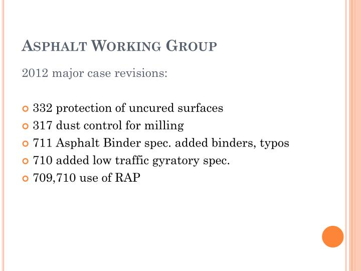 Asphalt Working Group