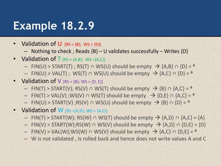 Example 18.2.9