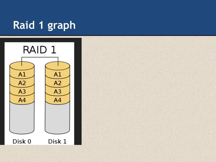 Raid 1 graph