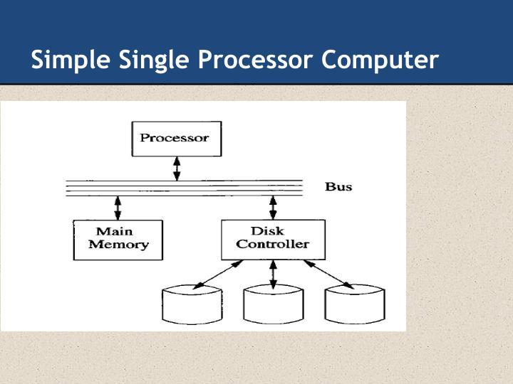 Simple Single Processor Computer