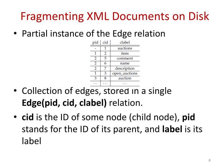 Fragmenting