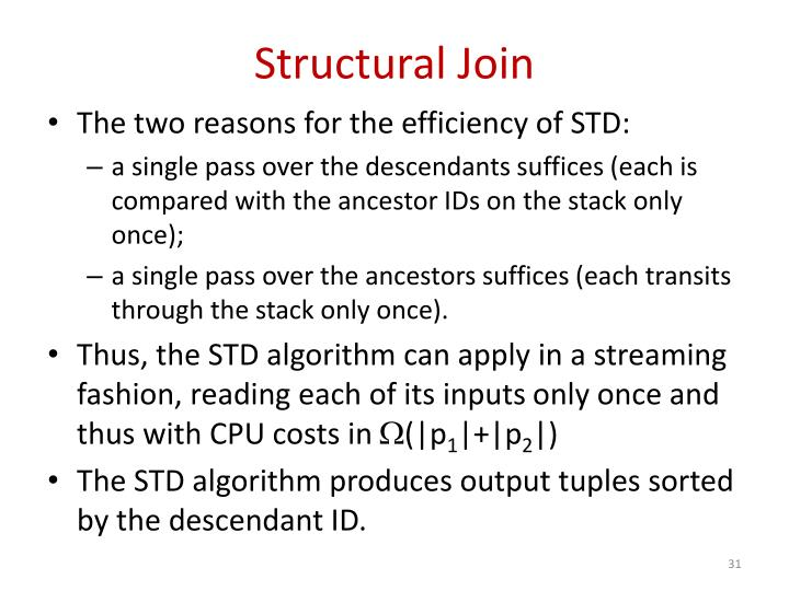 Structural Join