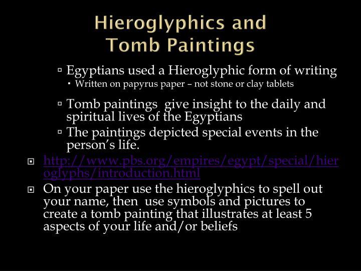 Hieroglyphics and