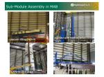 sub module assembly in mab