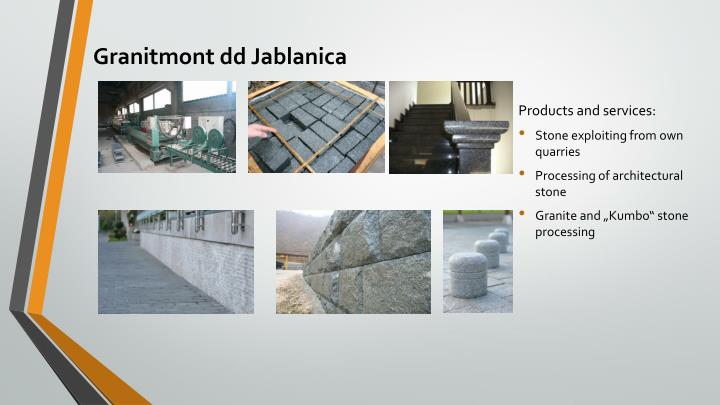 Granitmont dd Jablanica
