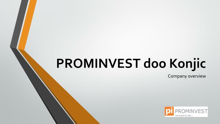 Prominvest doo konjic