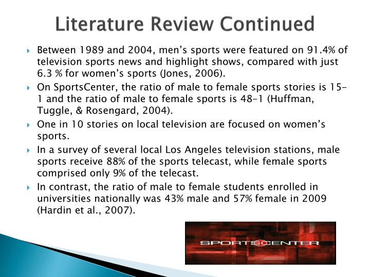 Literature Review Continued