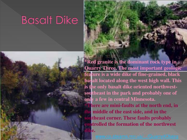 Basalt Dike