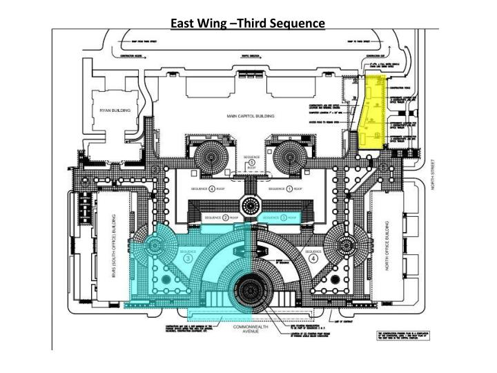 East Wing –Third Sequence