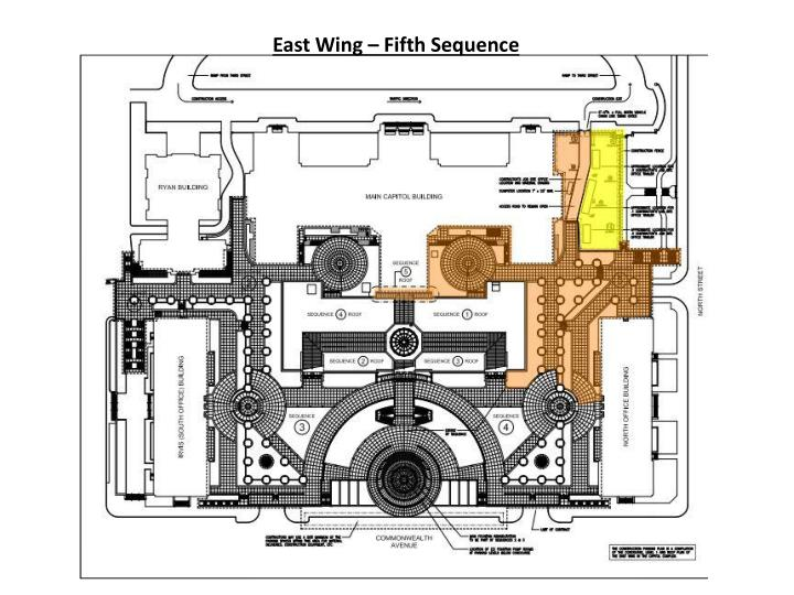 East Wing – Fifth Sequence