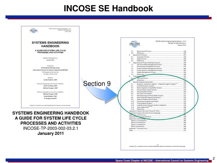 INCOSE SE Handbook