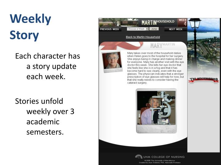 Weekly Story
