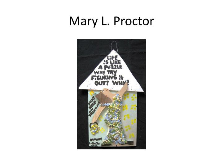 Mary L. Proctor