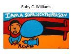 ruby c williams