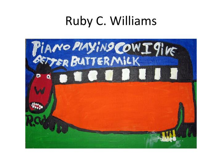 Ruby C. Williams