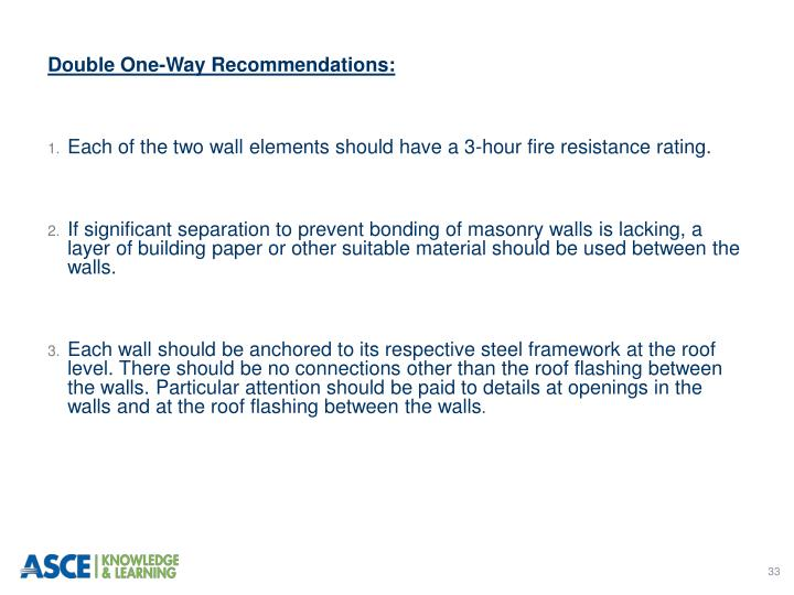 Double One-Way Recommendations: