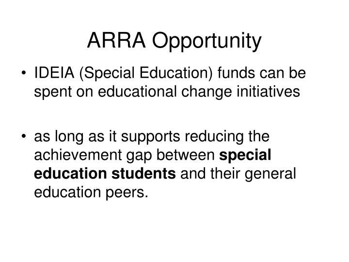ARRA Opportunity