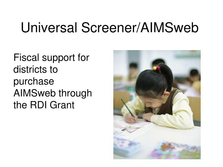 Universal Screener/