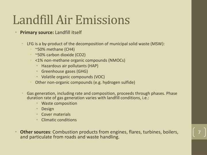 Landfill Air Emissions