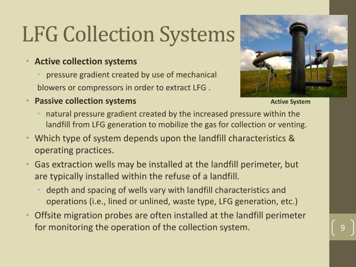 LFG Collection Systems