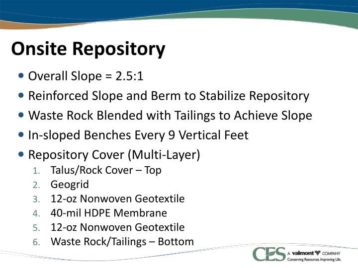 Onsite Repository