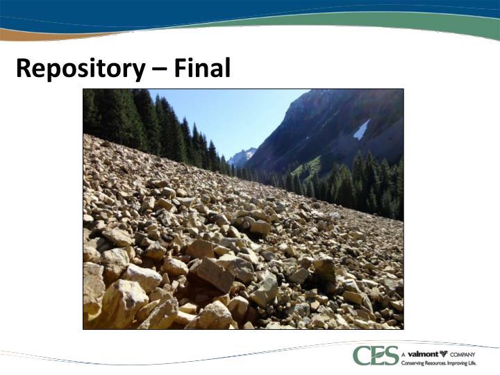 Repository – Final