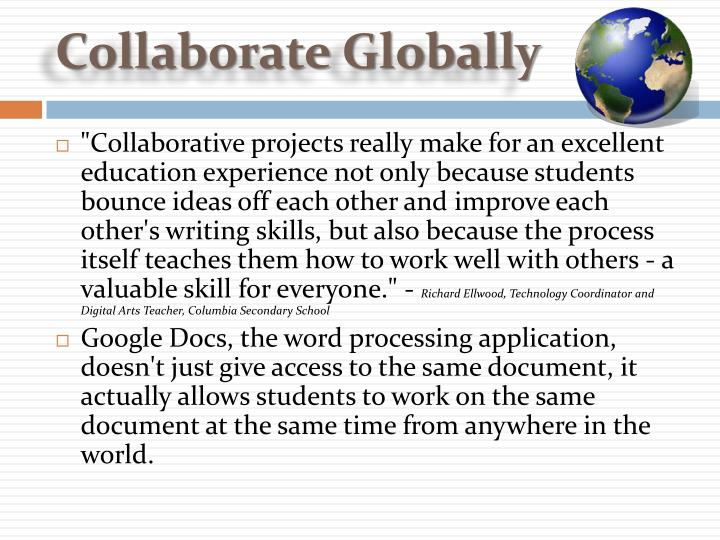 Collaborate Globally