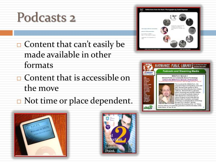 Podcasts 2