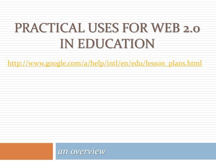 http://www.google.com/a/help/intl/en/edu/lesson_plans.html