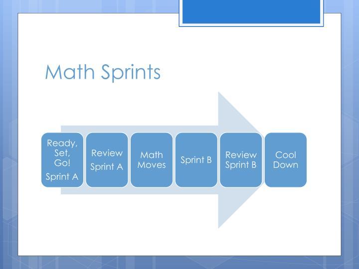 Math Sprints