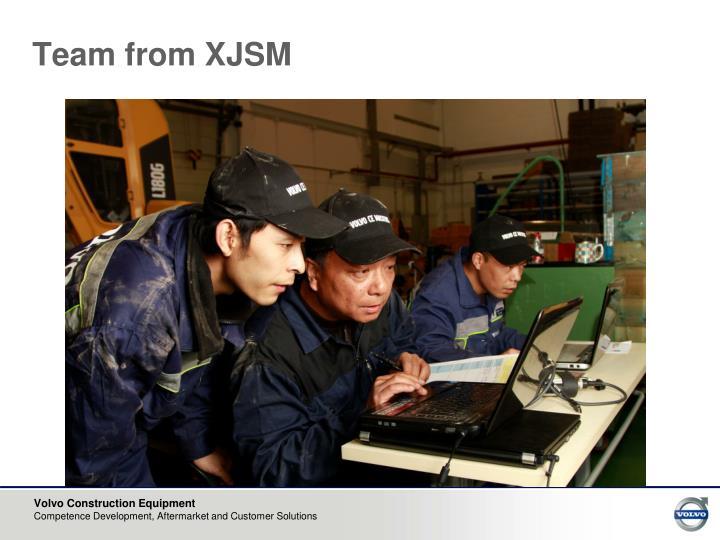 Team from XJSM