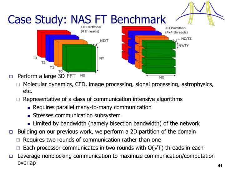 Case Study: NAS FT Benchmark