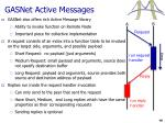 gasnet active messages