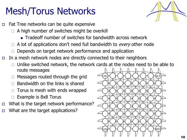 Mesh/Torus Networks