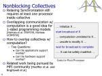 nonblocking collectives