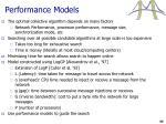 performance models