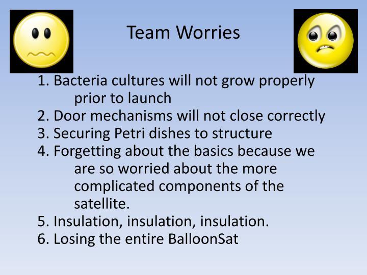 Team Worries