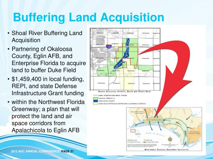 Buffering Land Acquisition