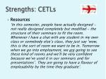strengths cetls
