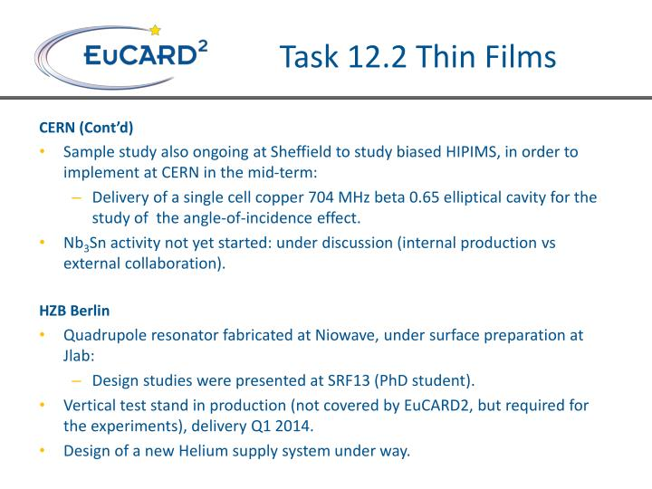 Task 12.2 Thin Films