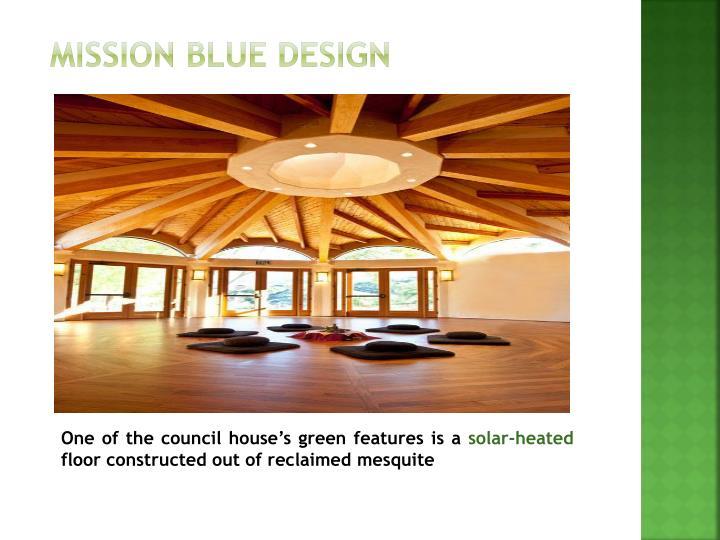 MISSION BLUE DESIGN