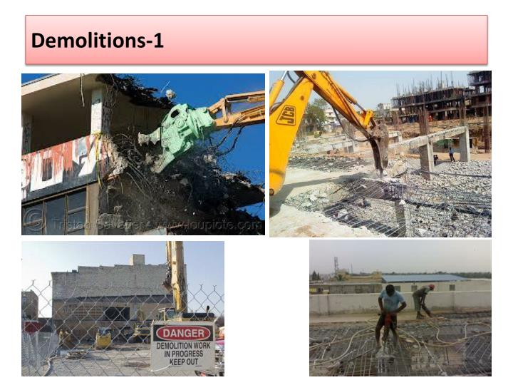Demolitions-1