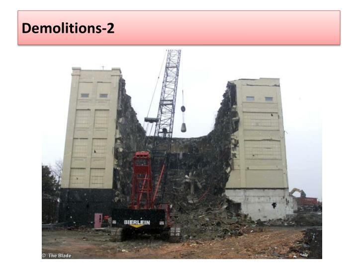 Demolitions-2