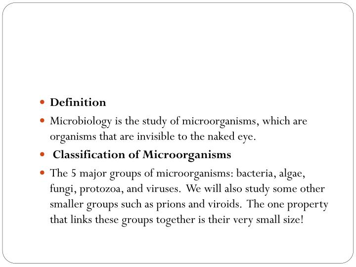 history of microbiology powerpoint presentation